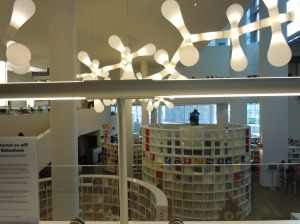 Inside the bibliotheek.