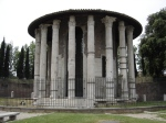 The Temple of Hercules Victor - Forum Boarium (public domain image)