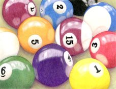 """Nice Rack"" 8""x10"" Colored Pencil on Bristol"