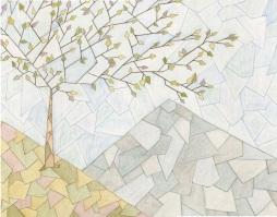 """One Tree Hill"" 11x14"" Colored Pencil on Bristol"
