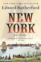 new york, edward rutherford, historical novel