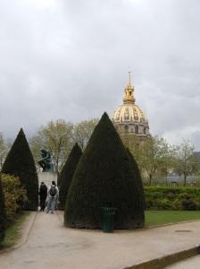 les invalides, paris, rodin museum, napoleon
