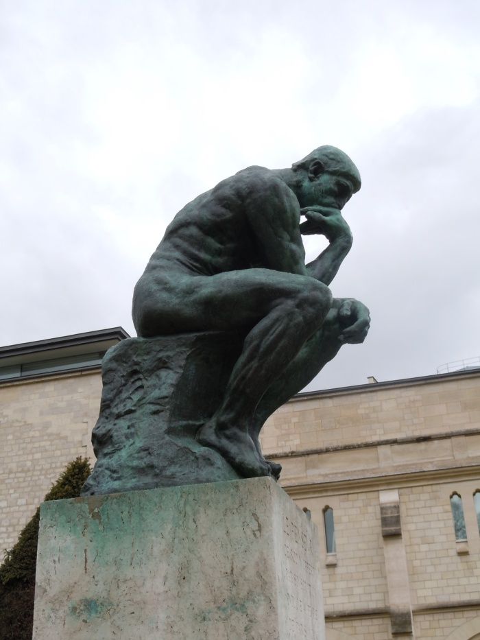 rodin museum, paris, thinker, rodin, sculpture