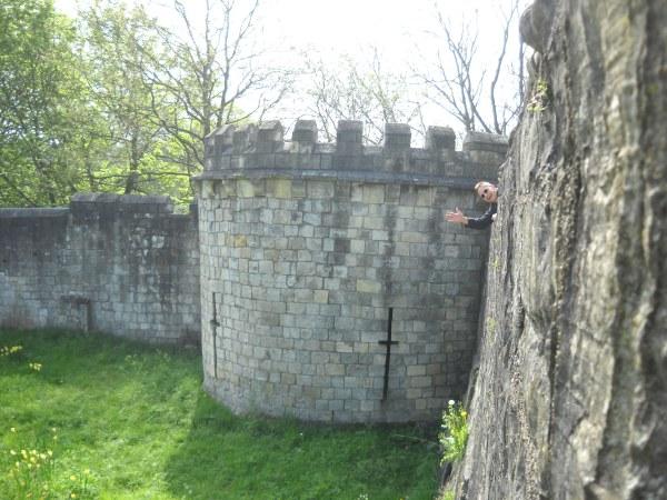 york walls, england, uk