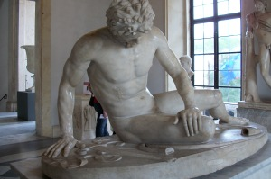 Dying Gaul, statue, Rome
