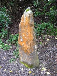 dingle, ireland, sea head, ogham stone, irish