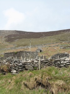 dingle, ireland, sea head, irish, beehive hut