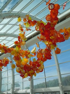 dale chihuly, seattle, glass art