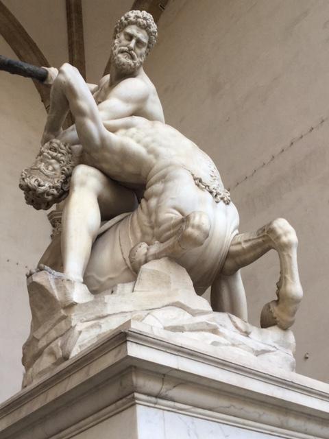 Florence, Firenze, Italy, Italia, Piazza della Repubblica, Loggia