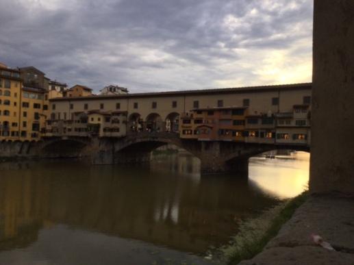 Arno, Florence, Firenze, Italy, Italia, Ponte Vecchio