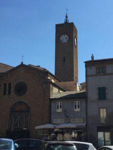 torre del moro, moro tower, orvieto, italy, italia