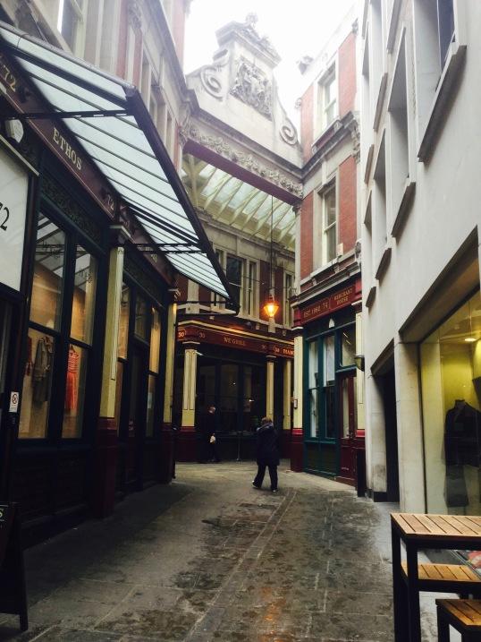 leadenhall market, city of london, london