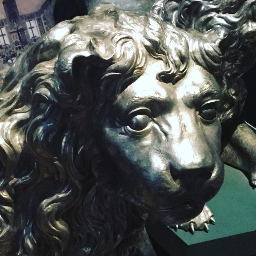 lion, victoria & albert museum, london