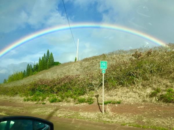 maui, rainbow, hawaii