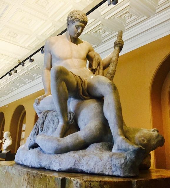 theseus, minotaur, greek myth, V&A, london