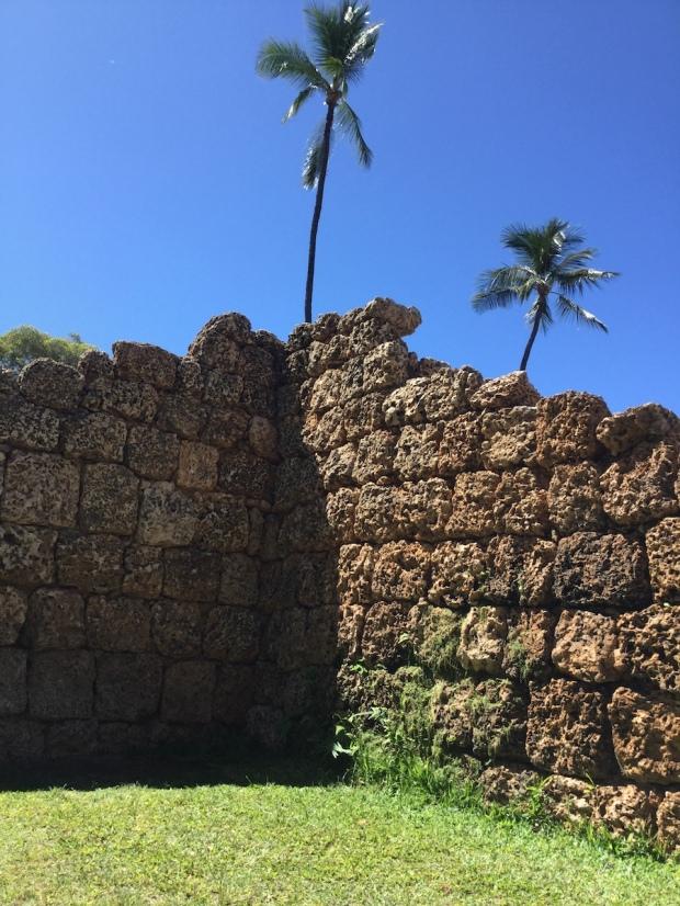 fort, Hawaii, Lahaina, Maui
