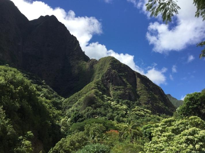 maui, hawaii, iao needle