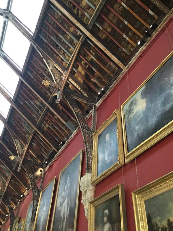 kilkenny castle, kilkenny, ireland, long gallery