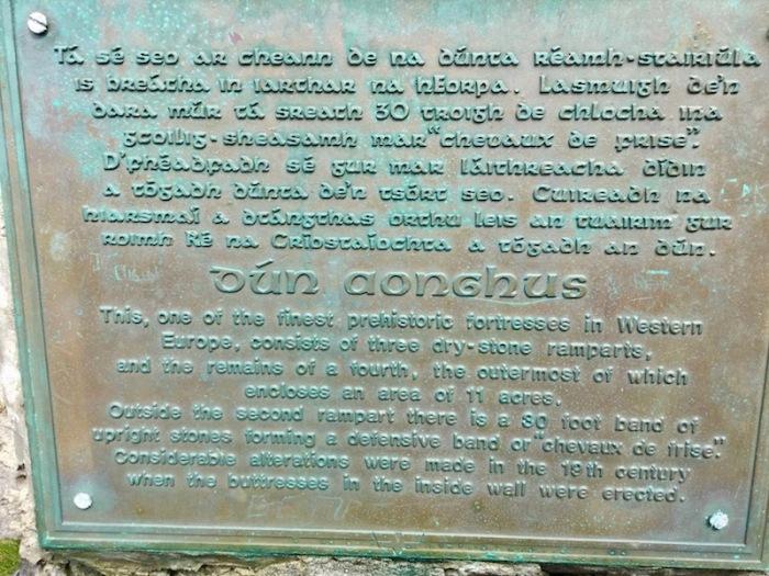 Dun aengus, inishmore, aran islands