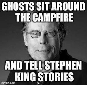 stephen king, meme