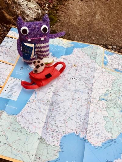 Finn Mcspool, France, Beastie, map